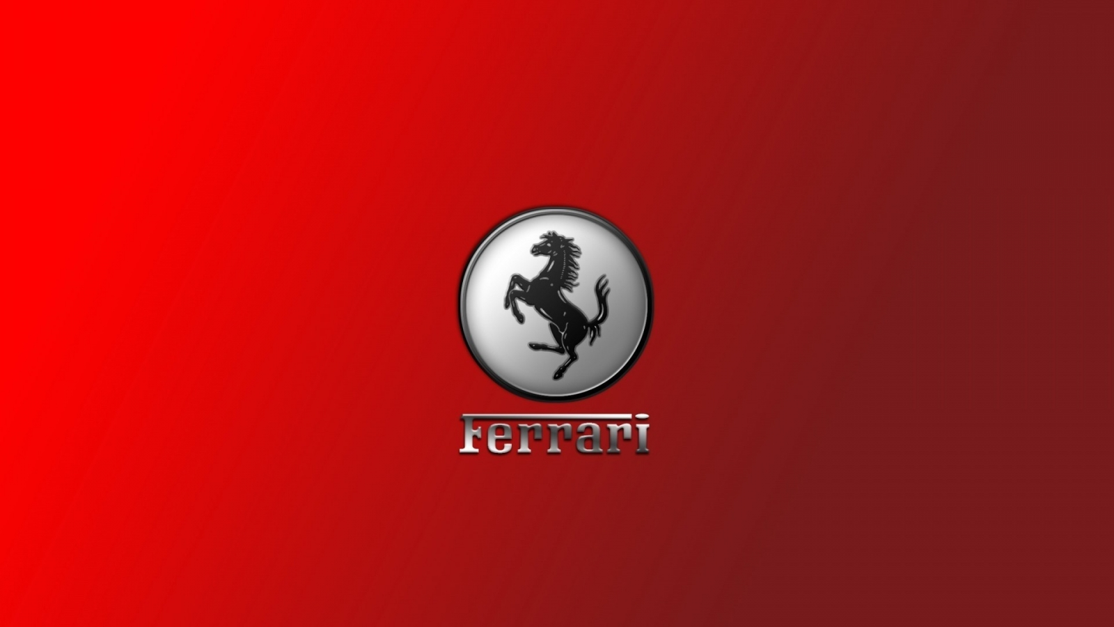Gorgeous Ferrari Logo for 1600 x 900 HDTV resolution