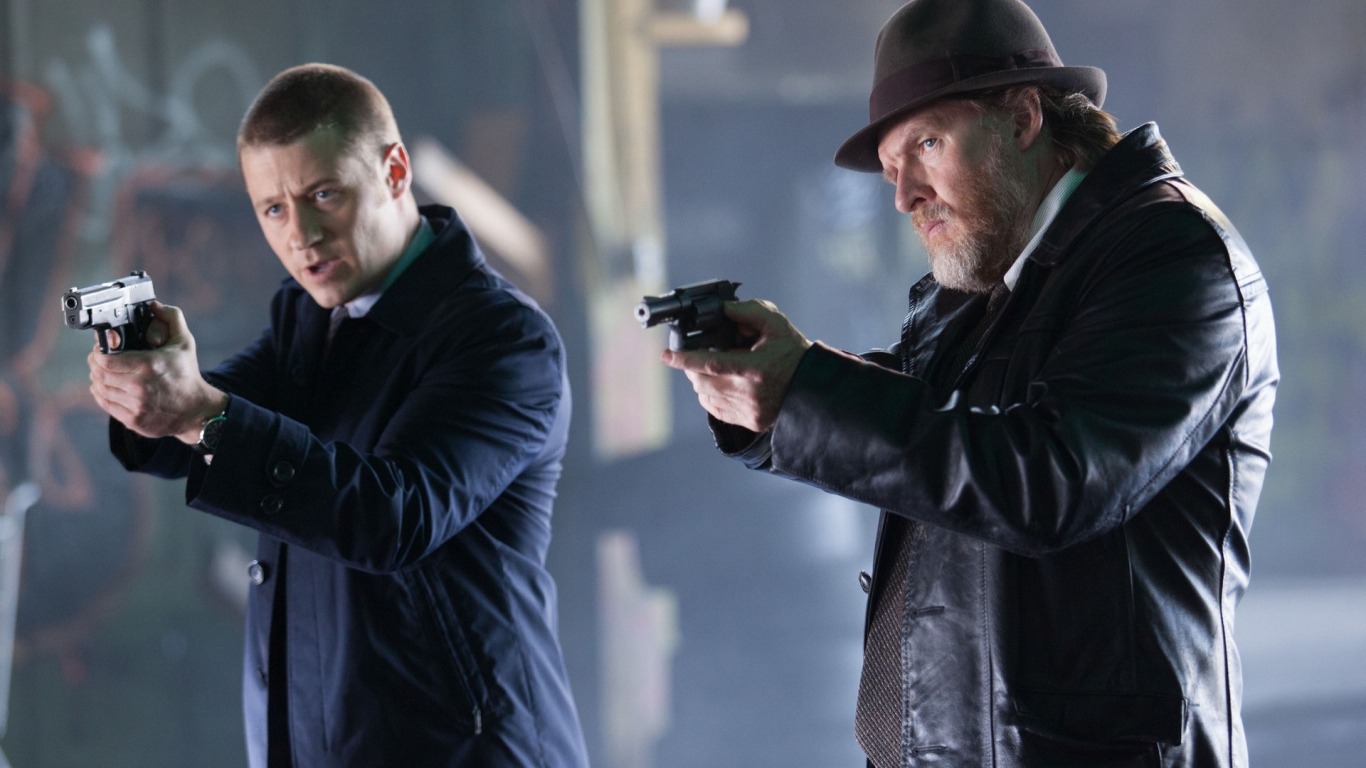 Gotham Harvey and James for 1366 x 768 HDTV resolution