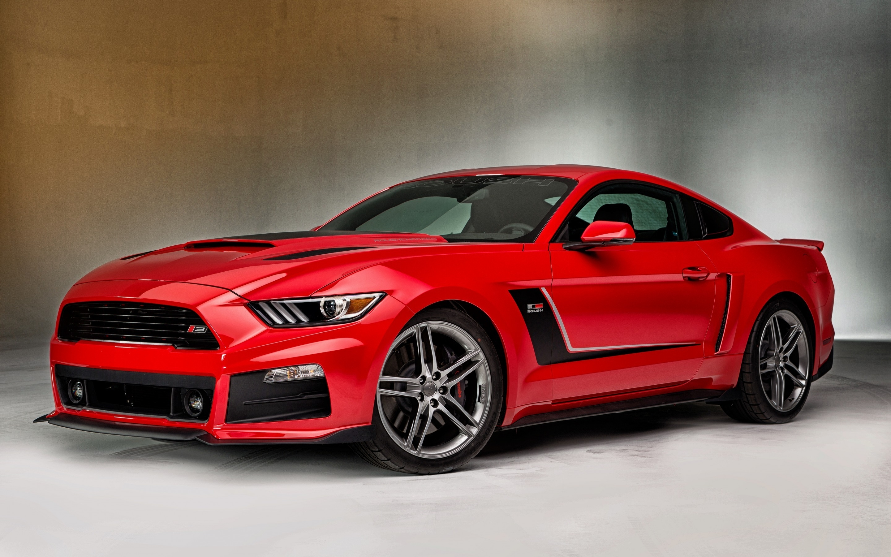 Gourgeous Red Ford Mustang 2880 X 1800 Retina Display