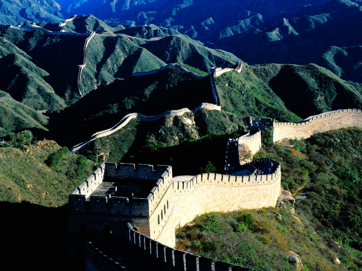 Great Wall of China for 1152 x 864 resolution