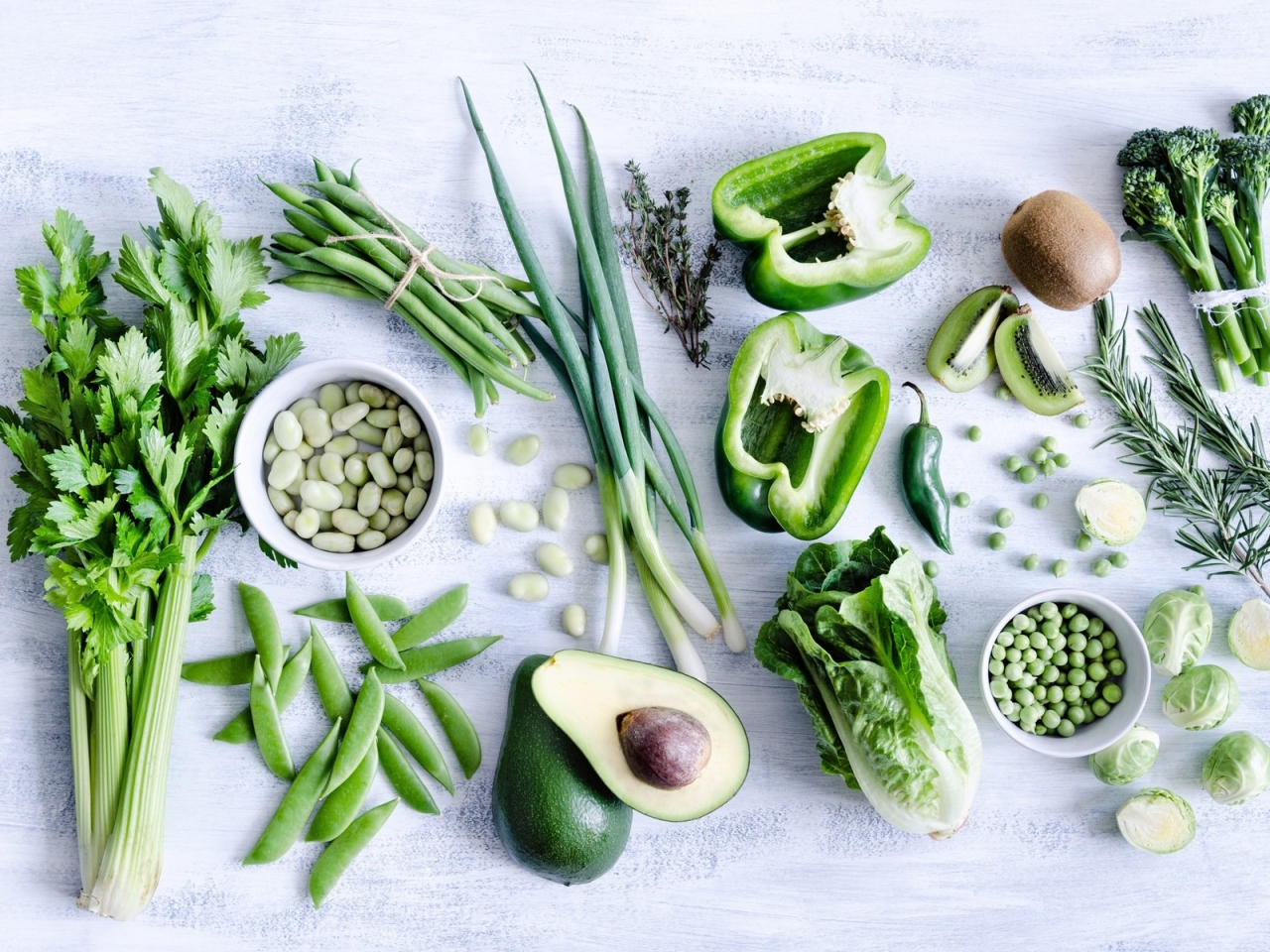 Green Vegetables for 1280 x 960 resolution