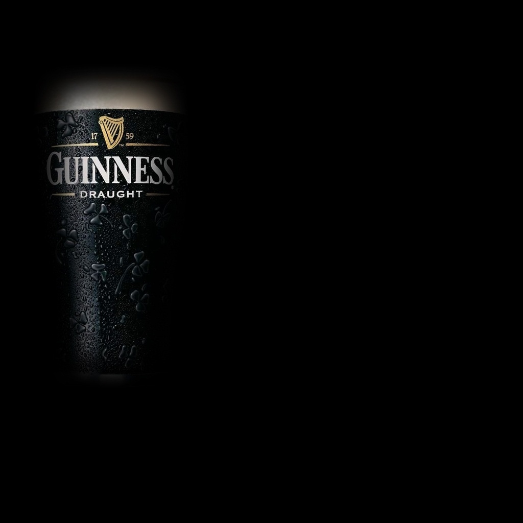 Guinness Beer for 1024 x 1024 iPad resolution