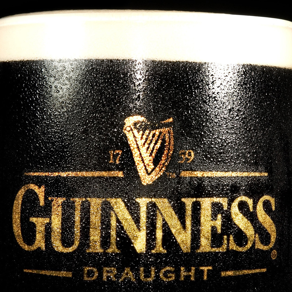 Guinness Draught for 1024 x 1024 iPad resolution