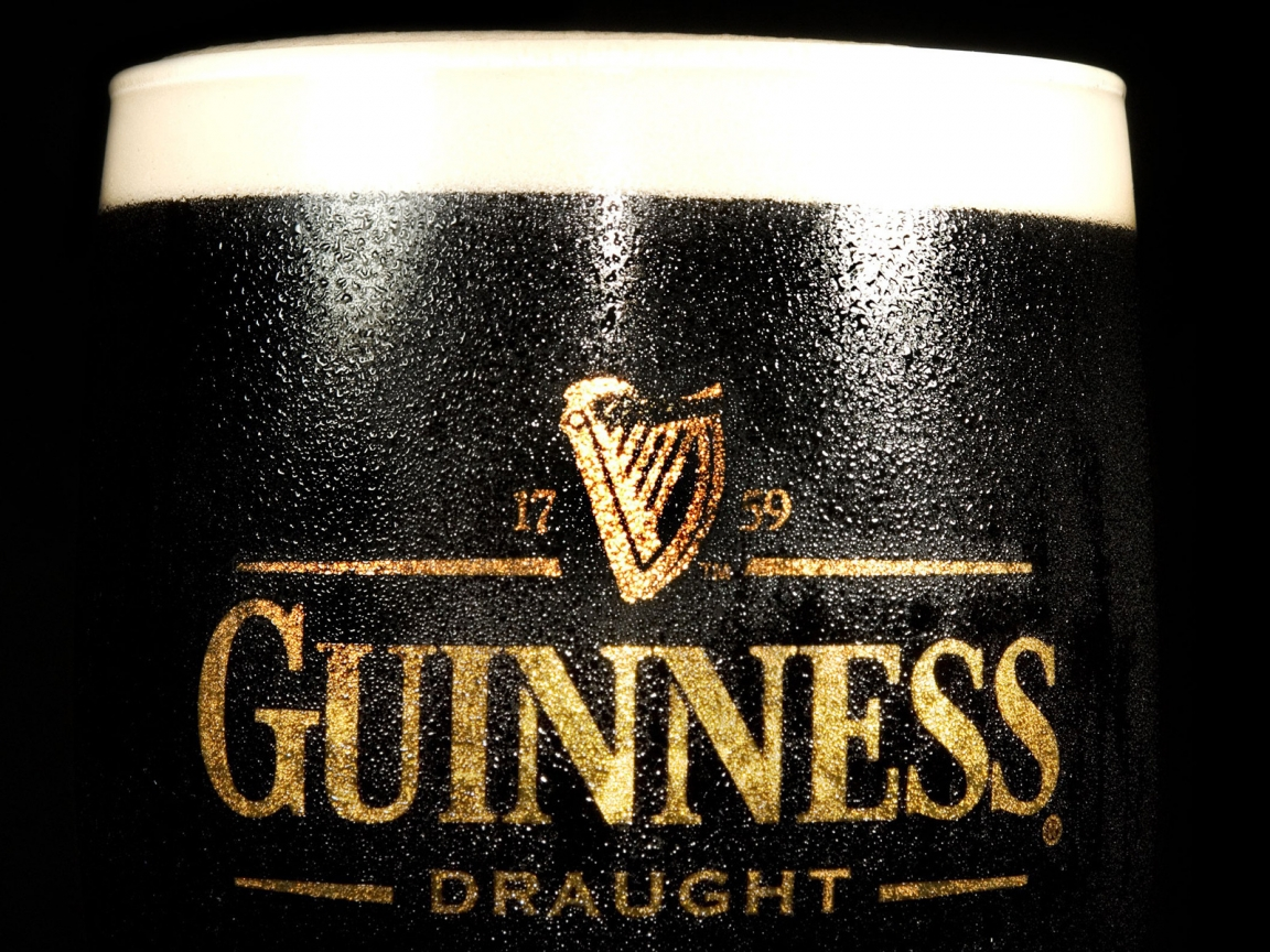 Guinness Draught for 1152 x 864 resolution