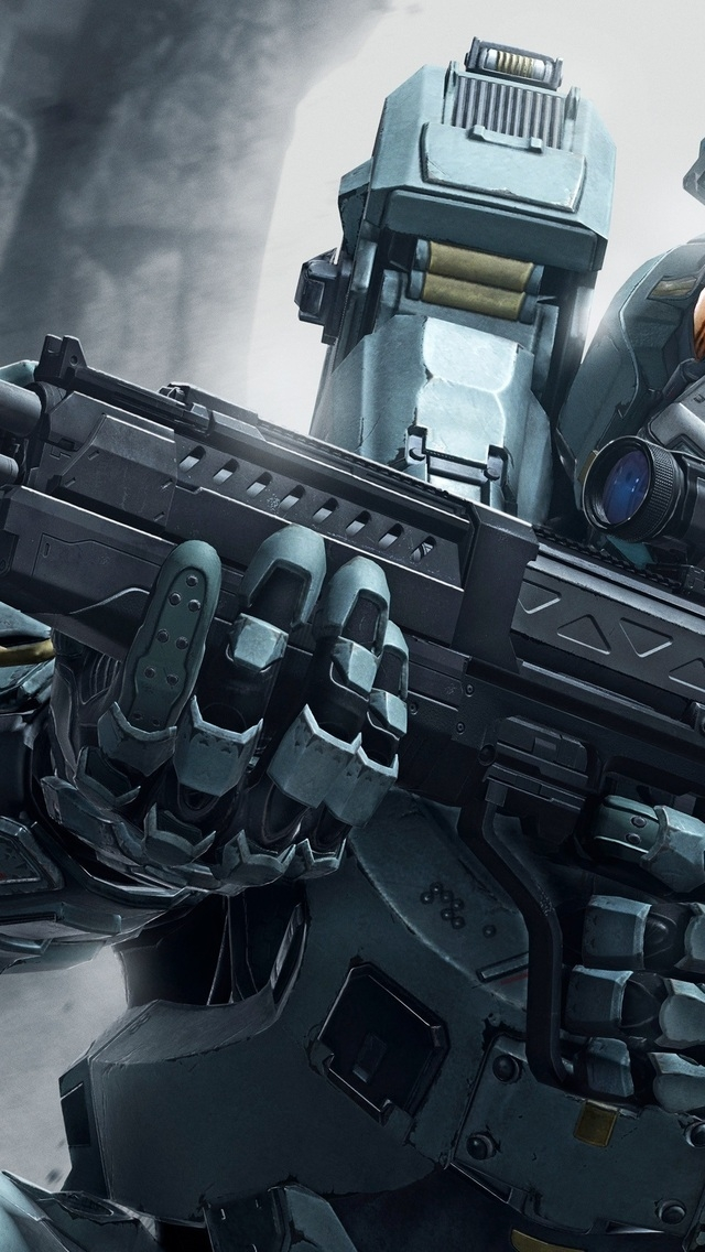 Halo 5 Guardian for 640 x 1136 iPhone 5 resolution