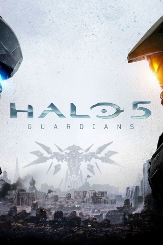 Halo 5 Guardians Game for 320 x 480 iPhone resolution