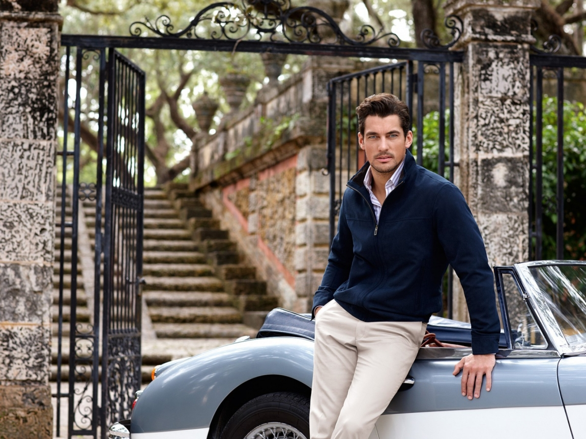 Handsome David Gandy for 1152 x 864 resolution