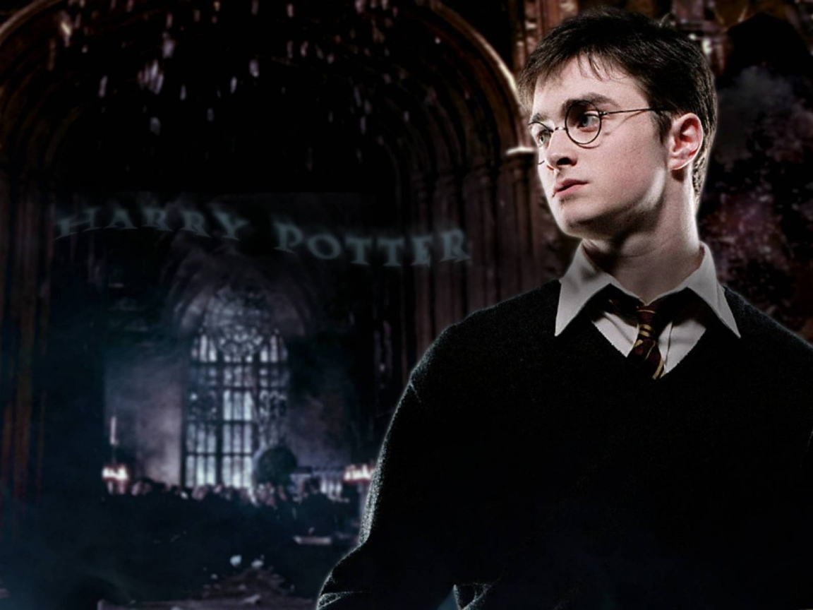 Harry Potter Daniel Radcliffe for 1152 x 864 resolution