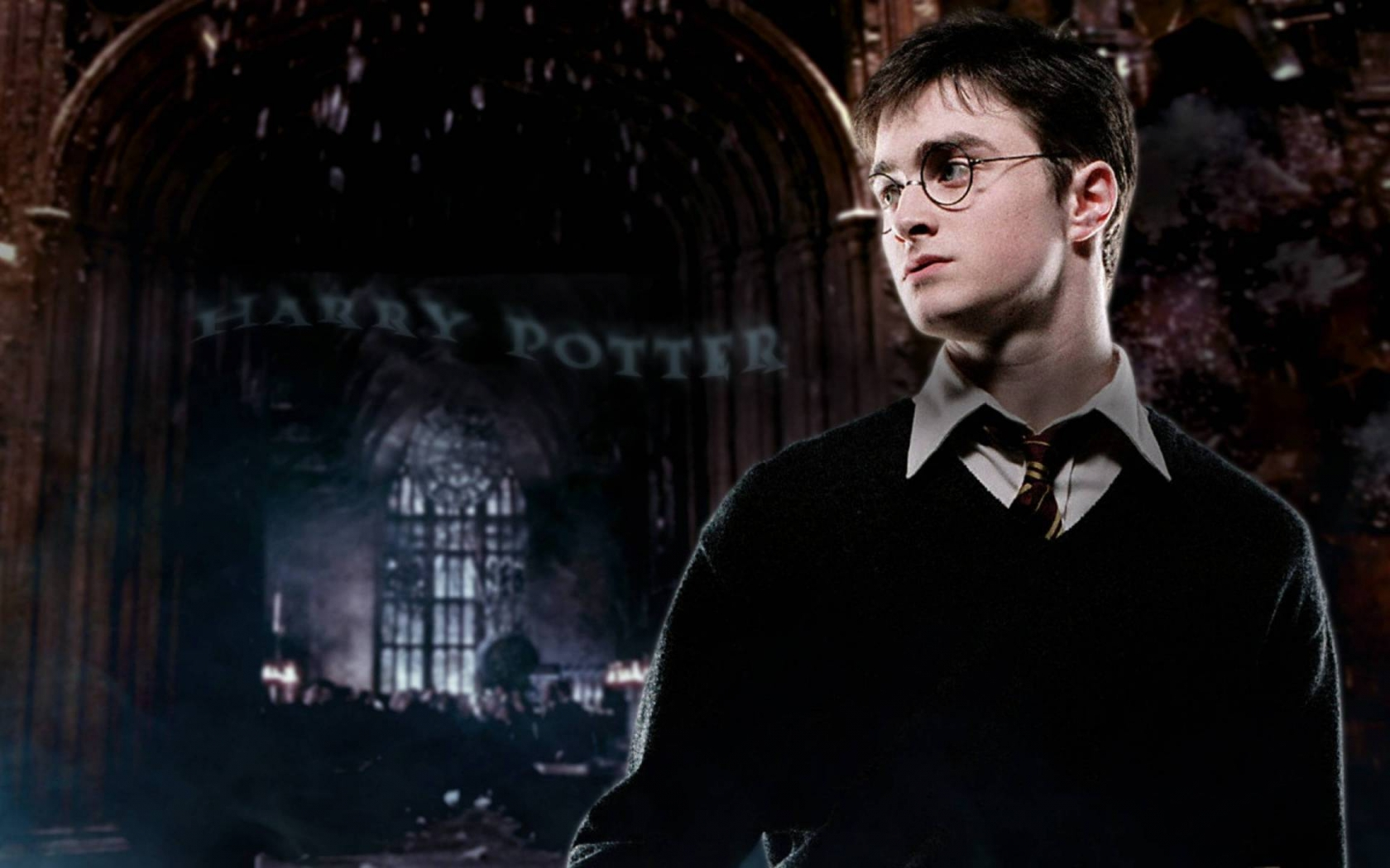 Harry Potter Daniel Radcliffe for 1680 x 1050 widescreen resolution