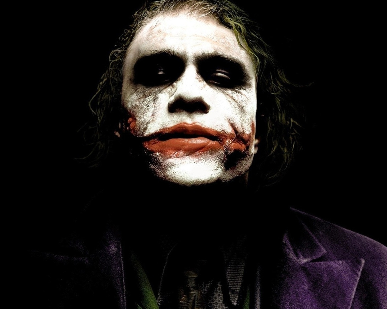 Heath Ledger The Joker for 1280 x 1024 resolution