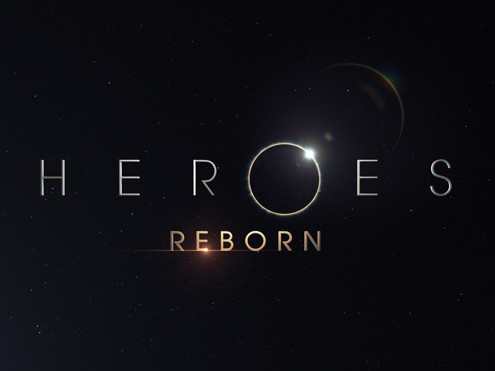 Heroes Reborn Logo for 1600 x 1200 resolution