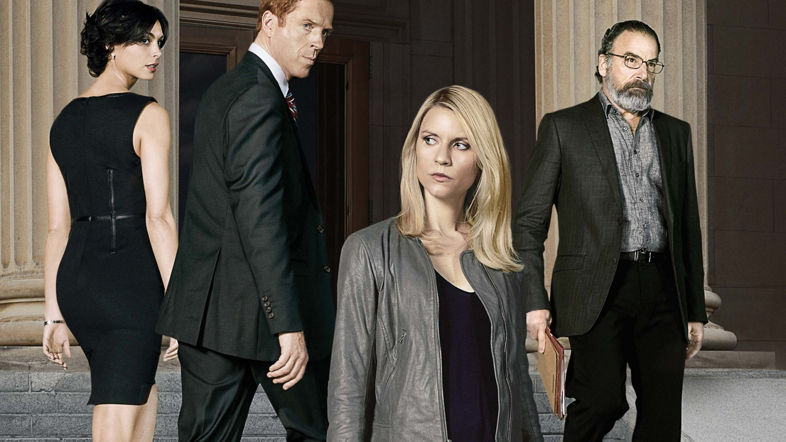 Homeland Cast for 1600 x 900 HDTV resolution