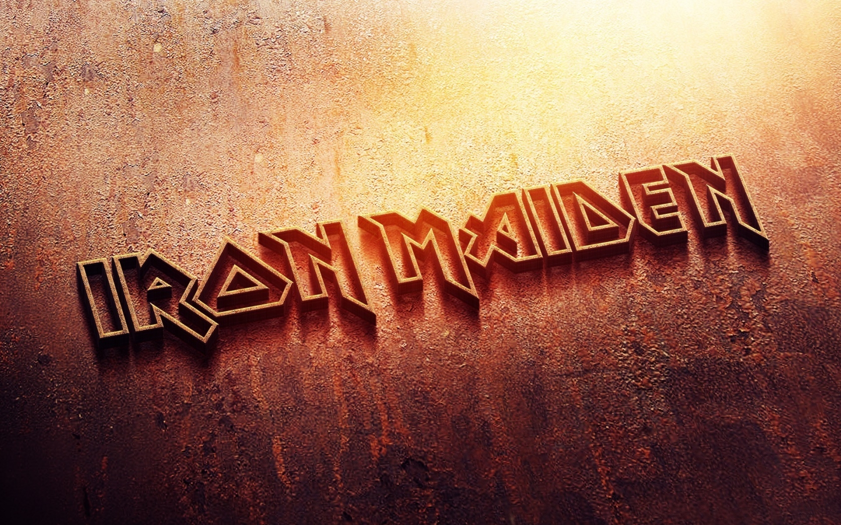 Iron Maiden Logo for 1680 x 1050 widescreen resolution