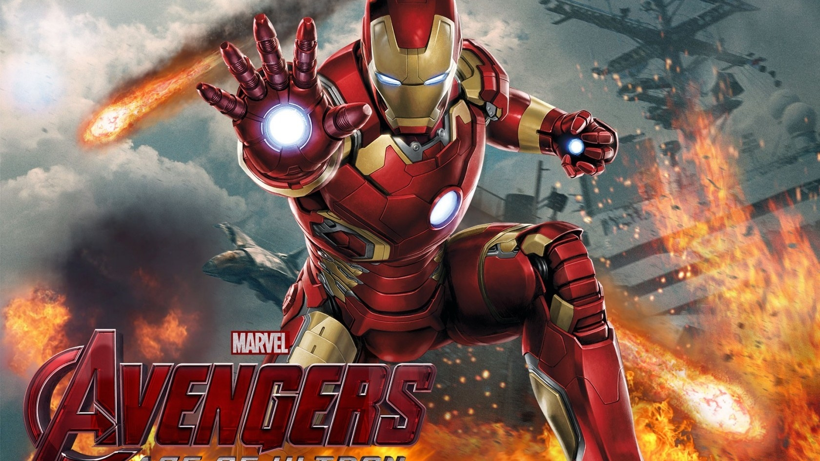 Iron Man The Avengers Movie for 1680 x 945 HDTV resolution
