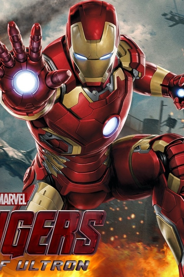 Iron Man The Avengers Movie for 640 x 960 iPhone 4 resolution