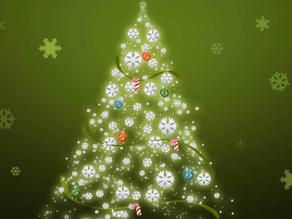 Its Just a Christmas Tree for 1024 x 768 resolution