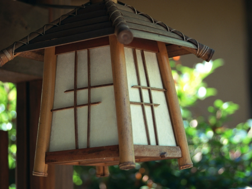 Japanese lamp for 1024 x 768 resolution