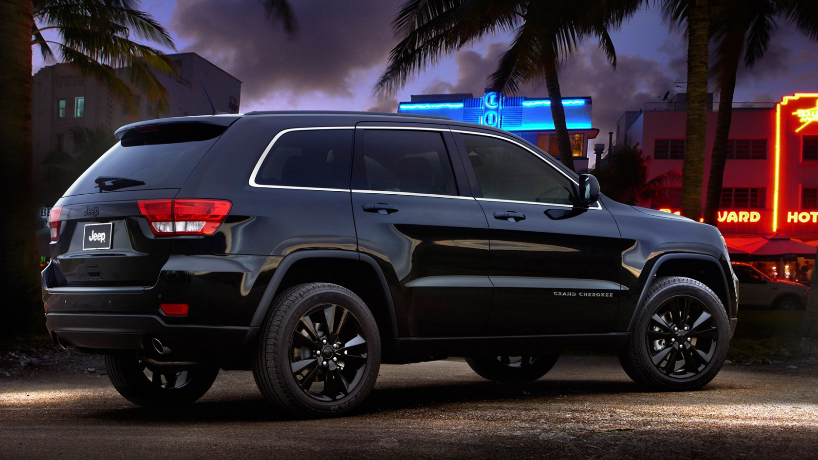 Jeep Grand Cherokee Rear Concept for 1680 x 945 HDTV resolution