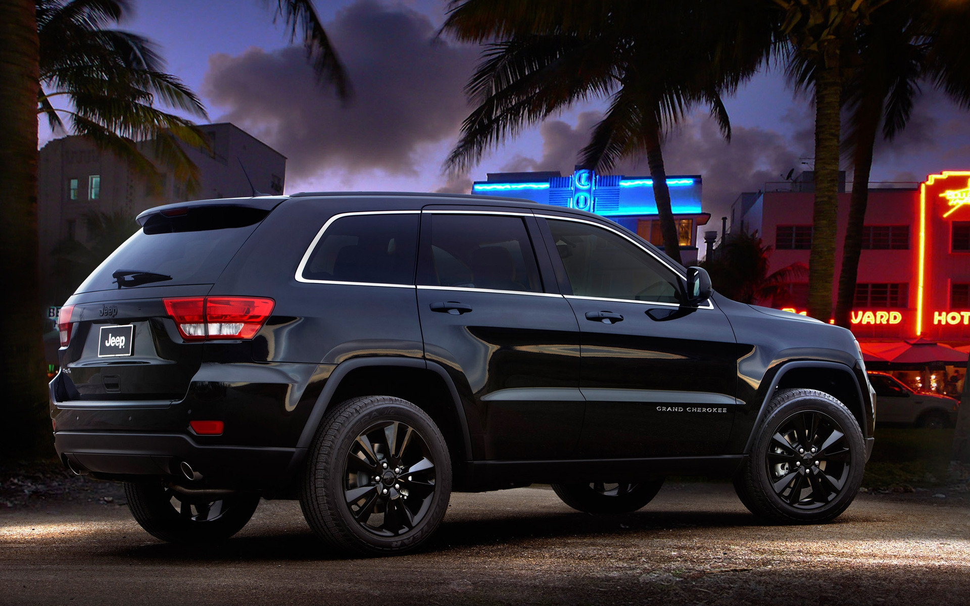 Jeep Grand Cherokee Rear Concept for 1920 x 1200 widescreen resolution
