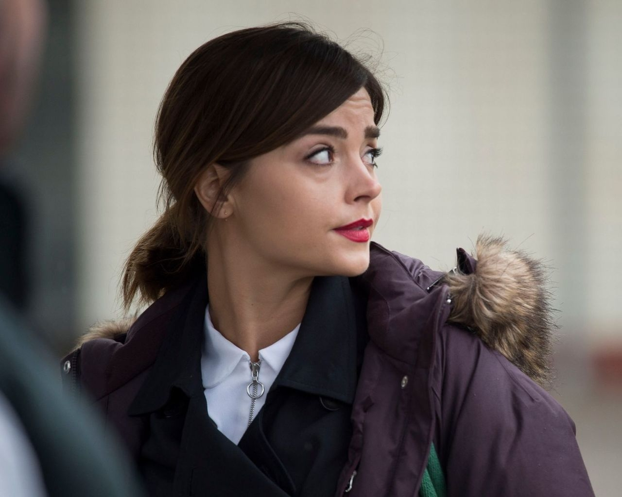 Jenna Coleman from Doctor Who for 1280 x 1024 resolution
