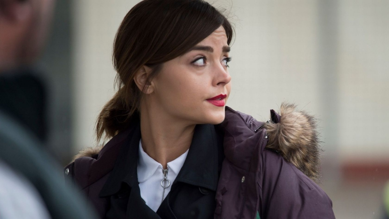 Jenna Coleman from Doctor Who for 1280 x 720 HDTV 720p resolution