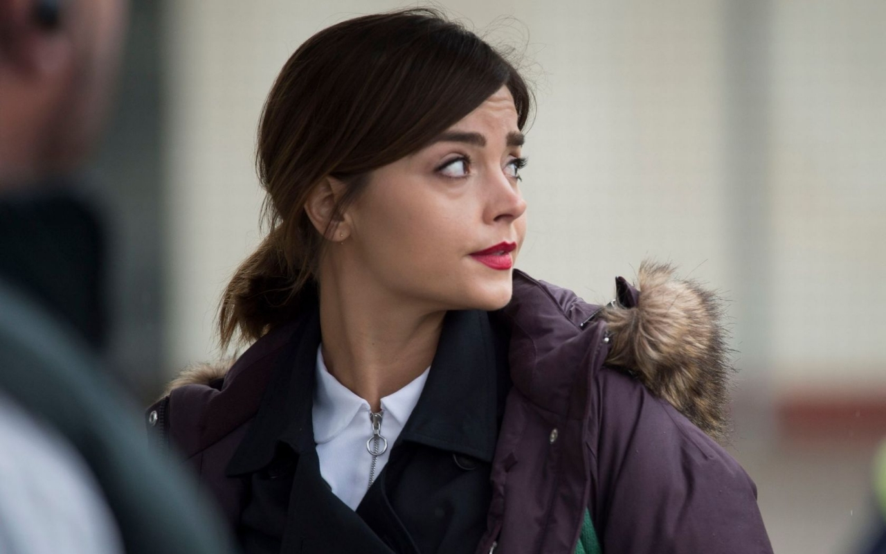 Jenna Coleman from Doctor Who for 1280 x 800 widescreen resolution