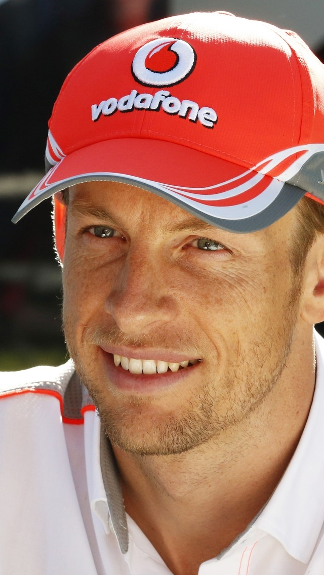 Jenson Button Vodafone for 640 x 1136 iPhone 5 resolution