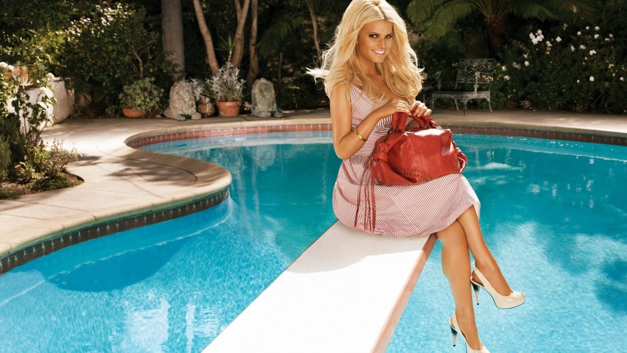Jessica Simpson for 1280 x 720 HDTV 720p resolution