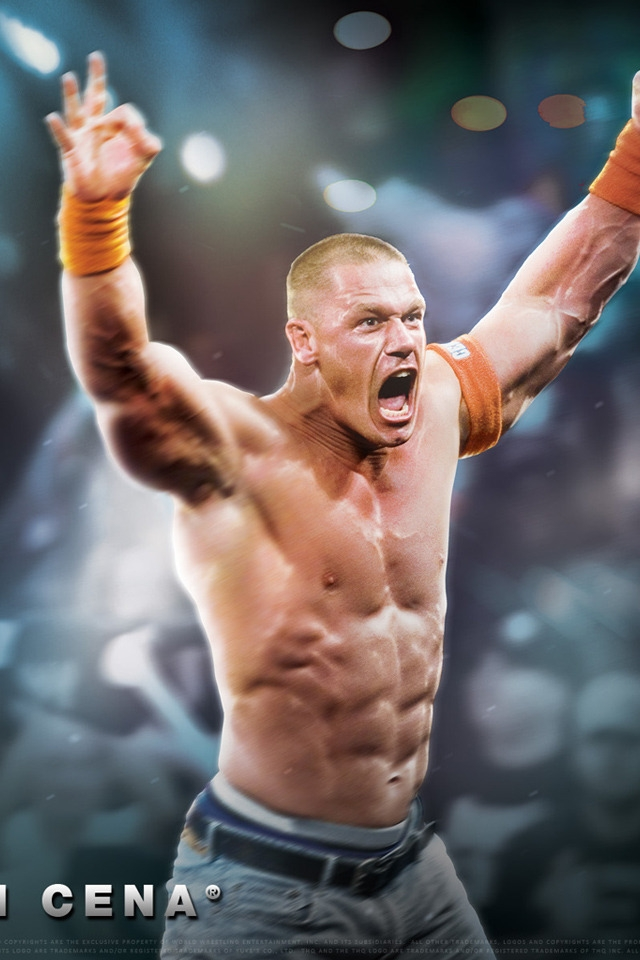 John Cena for 640 x 960 iPhone 4 resolution