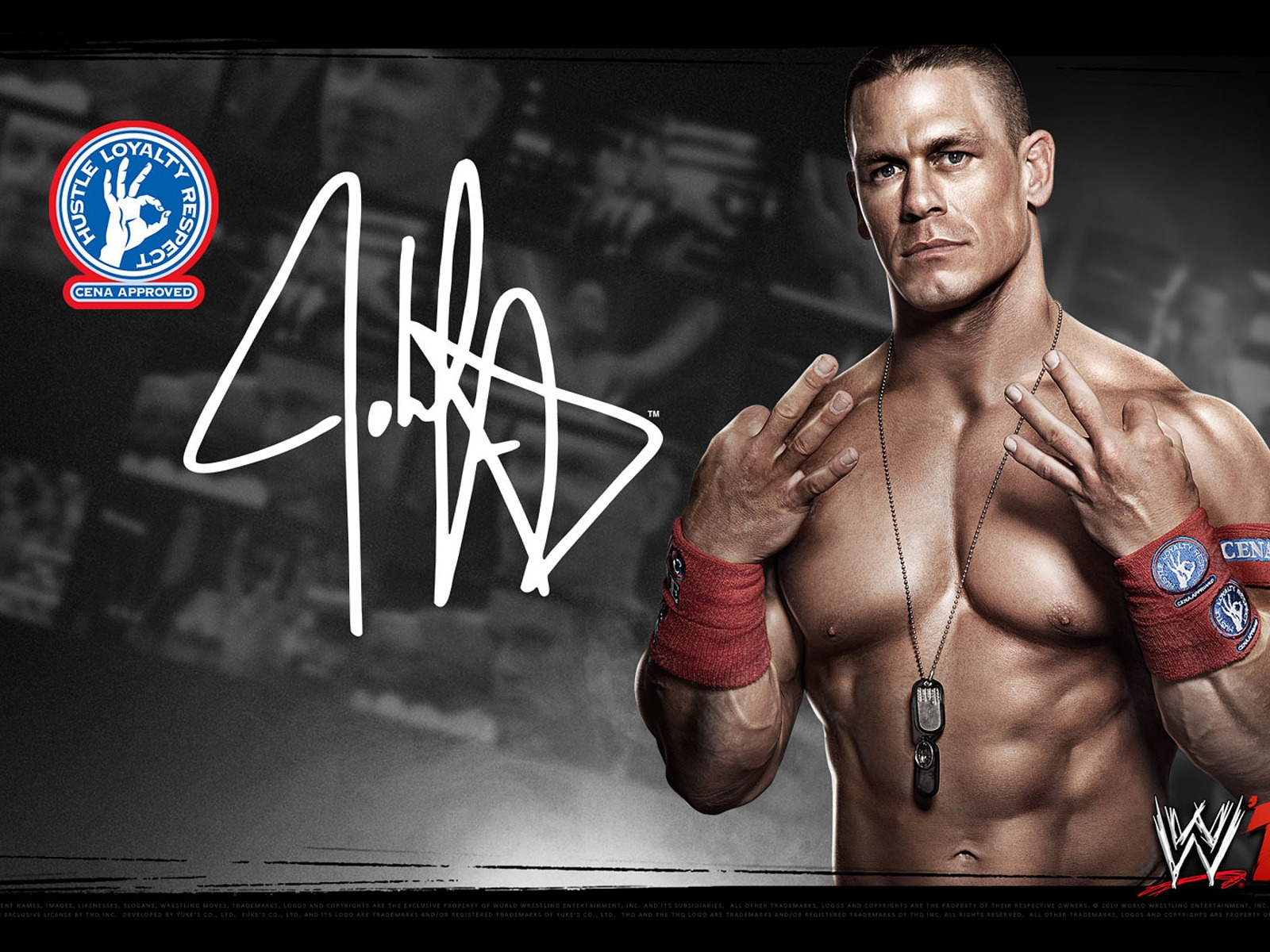 John Cena WWE for 1600 x 1200 resolution