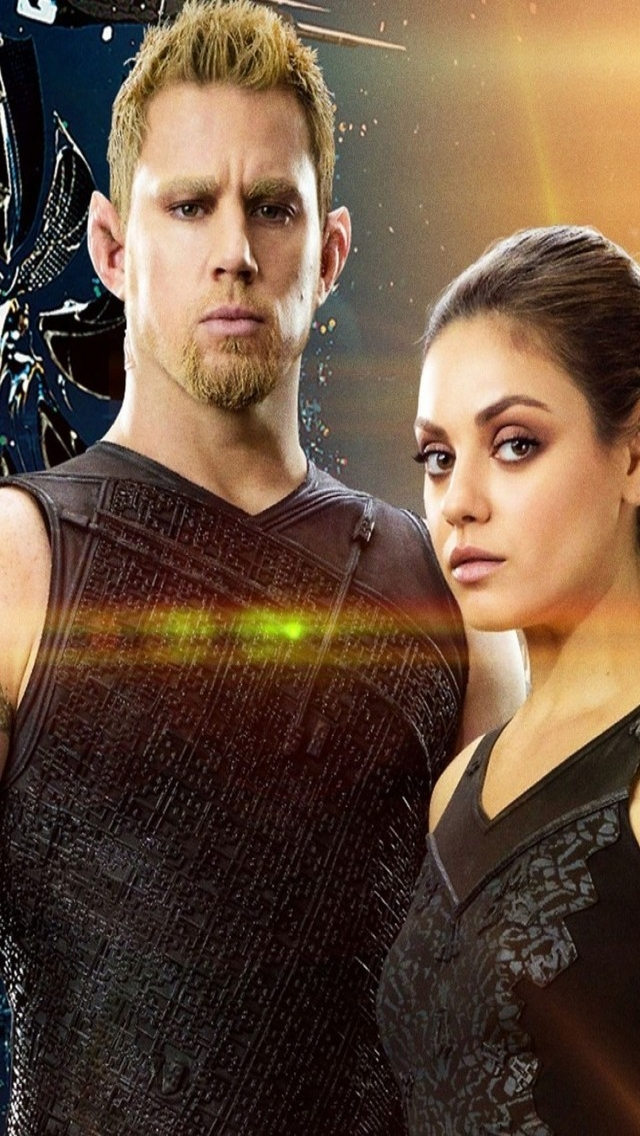 Jupiter Ascending for 640 x 1136 iPhone 5 resolution