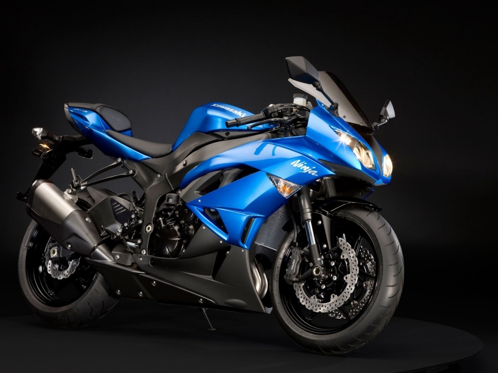 Kawasaki Ninja ZX 6R for 1024 x 768 resolution