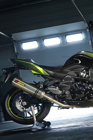 Kawasaki Z750R for 320 x 480 iPhone resolution