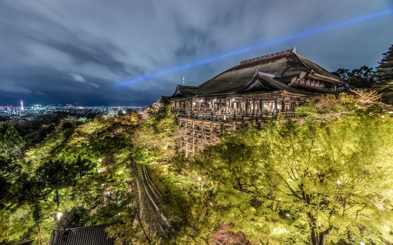 Kiyomizu Dera Temple Japan  for 1280 x 800 widescreen resolution