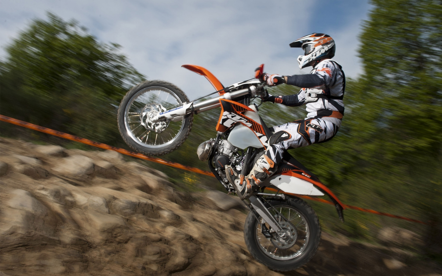 KTM EXC 200 2012 for 1440 x 900 widescreen resolution
