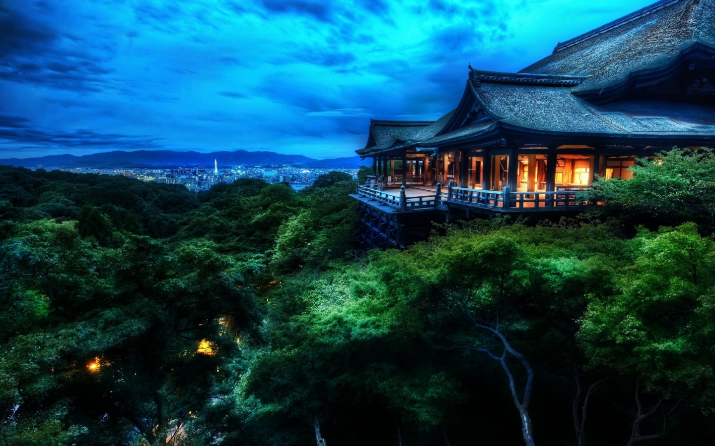 Kyoto Japan for 1440 x 900 widescreen resolution