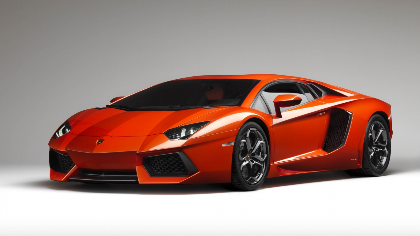 Lamborghini Aventador for 1366 x 768 HDTV resolution