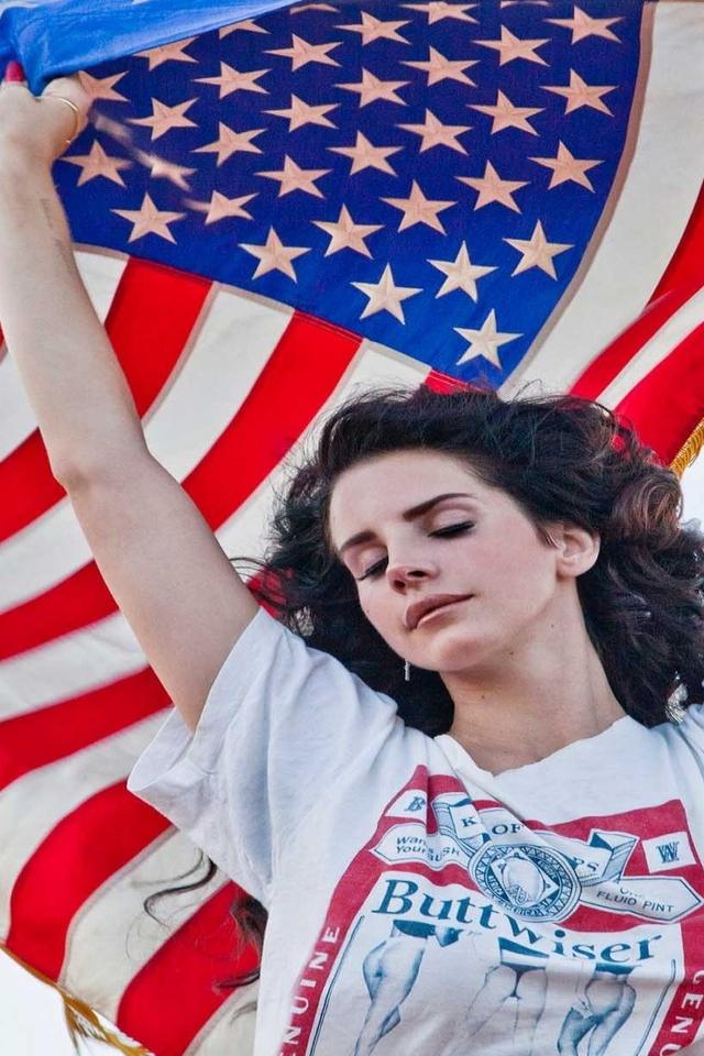 Lana Del Rey Facebook Cover Flag Lana Del Rey Am...