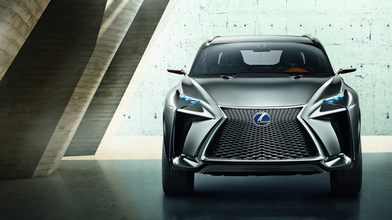 Lexus LF NX Crossover Concept for 1280 x 720 HDTV 720p resolution