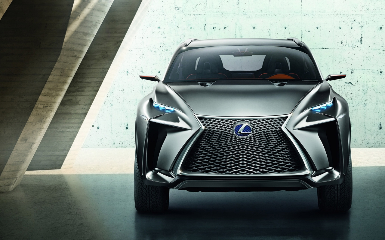 Lexus LF NX Crossover Concept for 1280 x 800 widescreen resolution