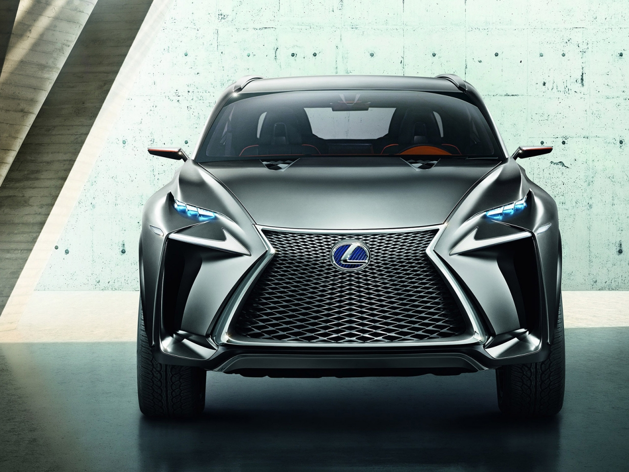 Lexus LF NX Crossover Concept for 1280 x 960 resolution