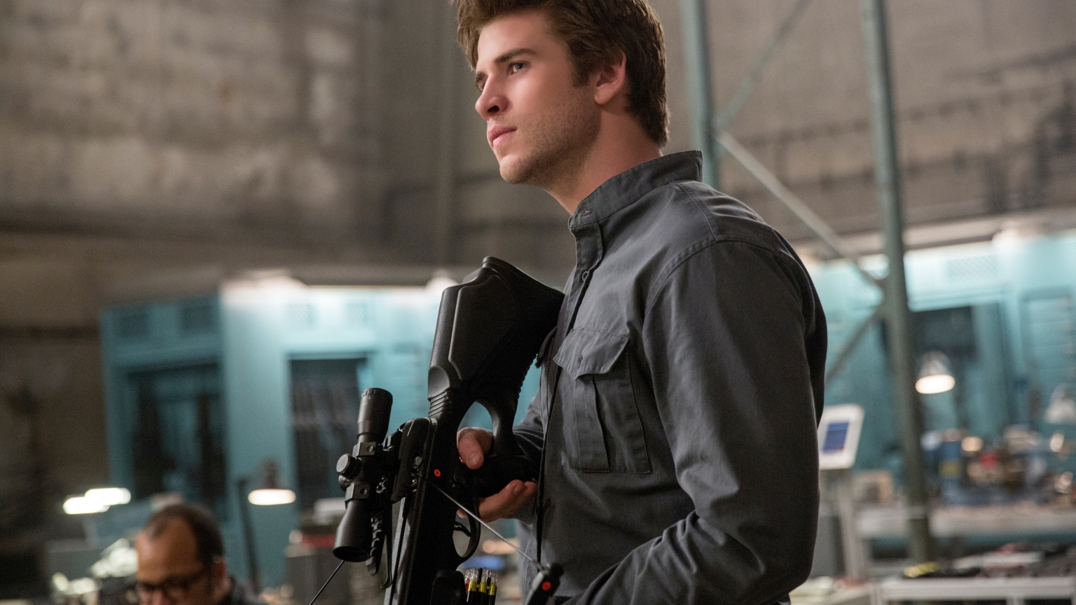 Liam Hemsworth in The Hunger Games for 1536 x 864 HDTV resolution