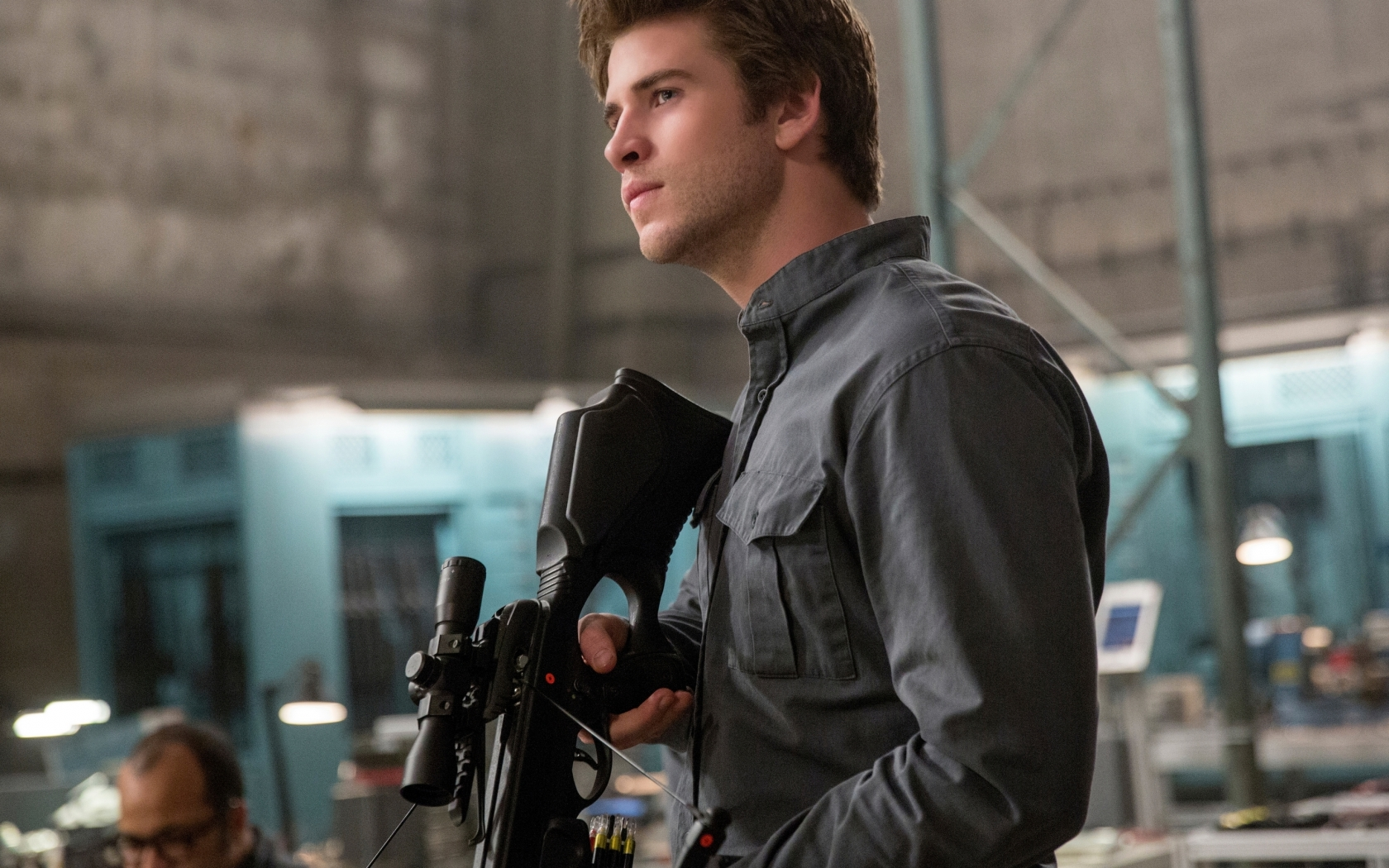 Liam Hemsworth in The Hunger Games for 1680 x 1050 widescreen resolution