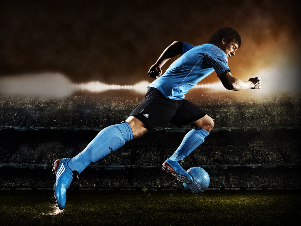 Lionel Messi Adidas for 1024 x 768 resolution