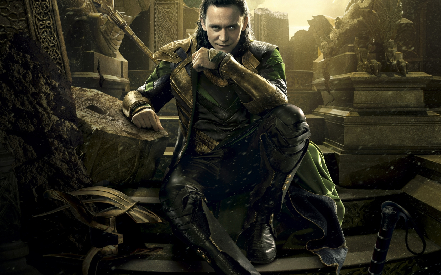 Loki Pose for 1680 x 1050 widescreen resolution