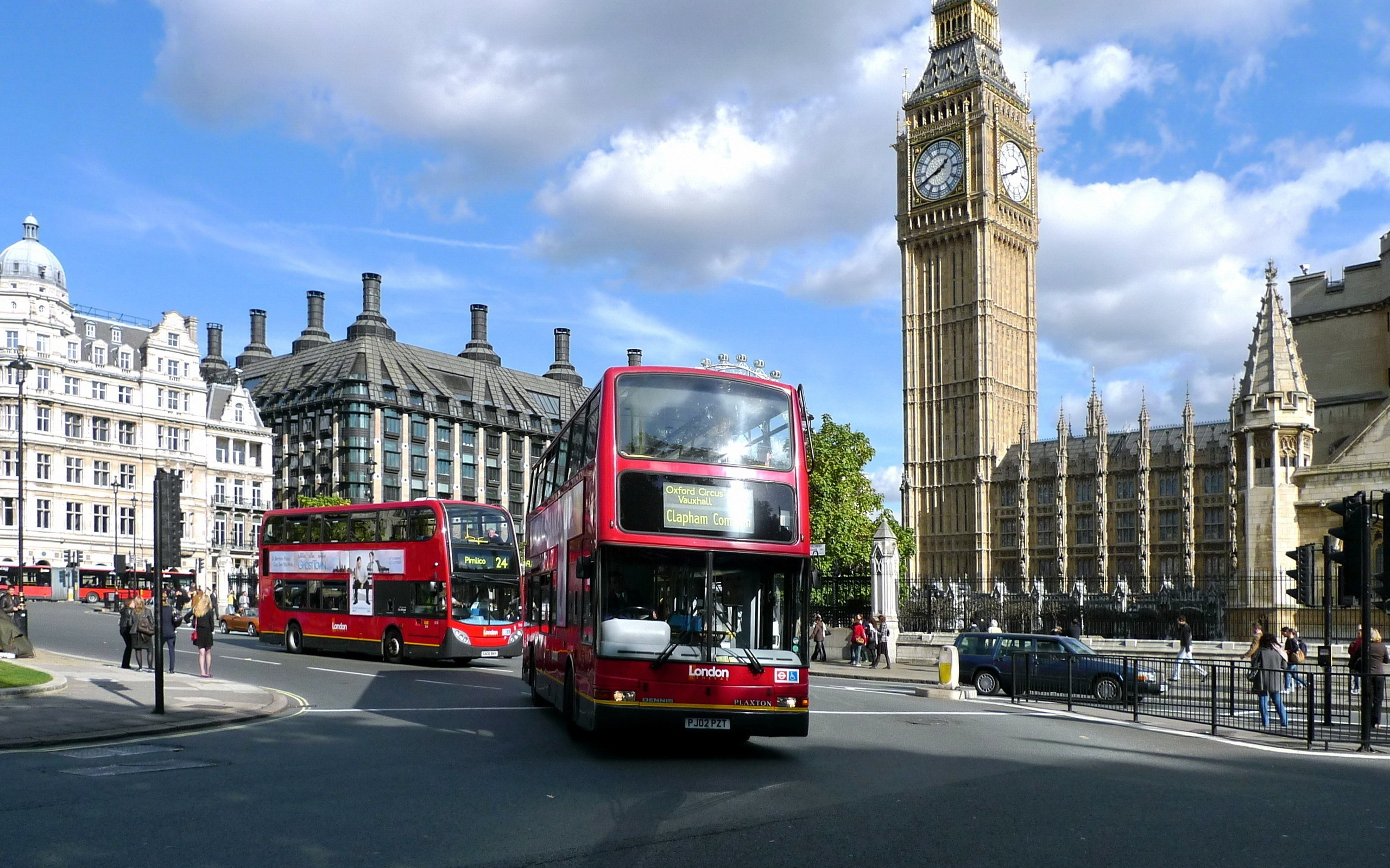 London Buses for 2560 x 1600 widescreen resolution