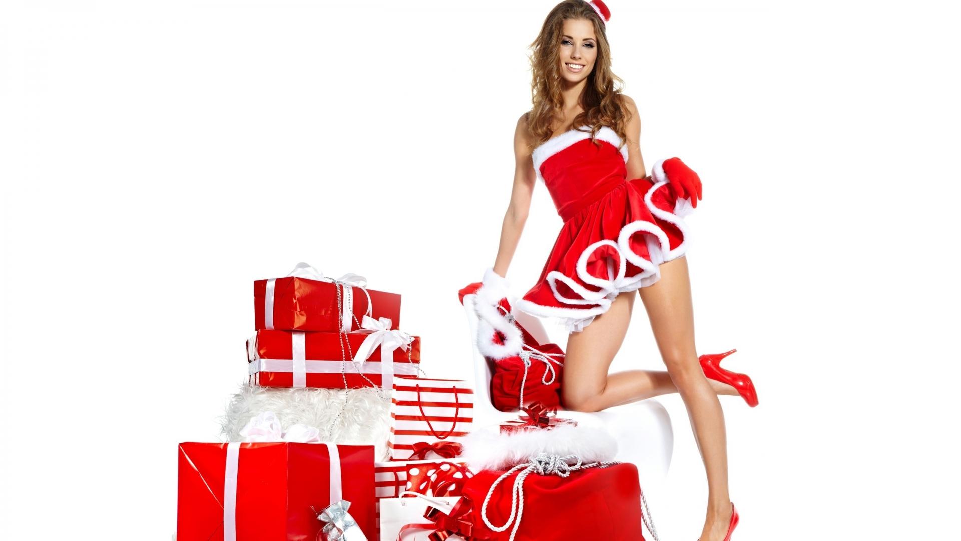Babe Hd lovely santa babe hd wallpaper - wallpaperfx