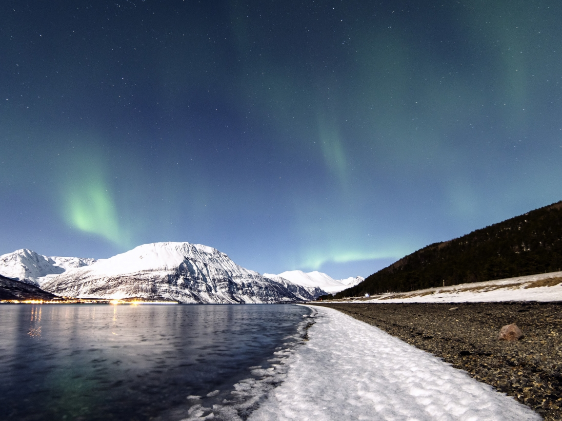 Lyngen Lights for 1152 x 864 resolution