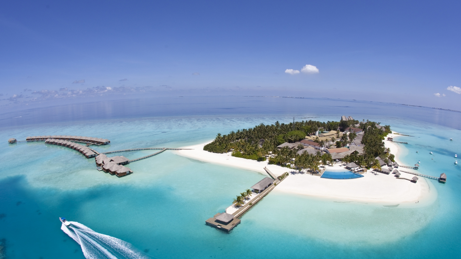 Maldives Island for 1536 x 864 HDTV resolution