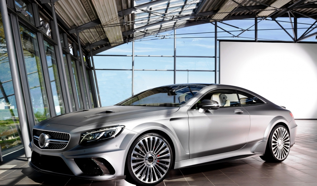 Mansory S 63 AMG Diamond Edition for 1024 x 600 widescreen resolution